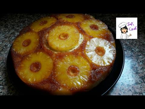 gâteau-à-l'ananas-délicieux