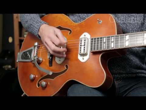 Eastman T58/V Guitar Demo