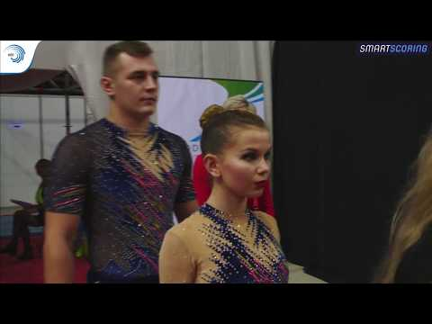 REPLAY: 2017 ACRO Europeans - Seniors qualifications day 2 MxP dynamic & WG balance