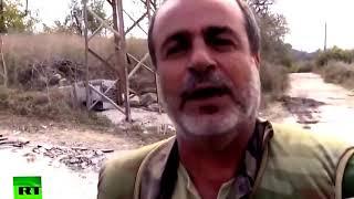ШОКИРУЮЩИЕ ВИДЕО! Сирийские добровольцы освобождают горные селения от боевиков Н