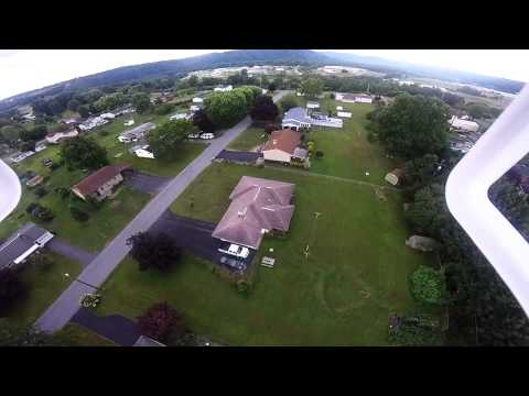 Second drone flight over Curwensville pa