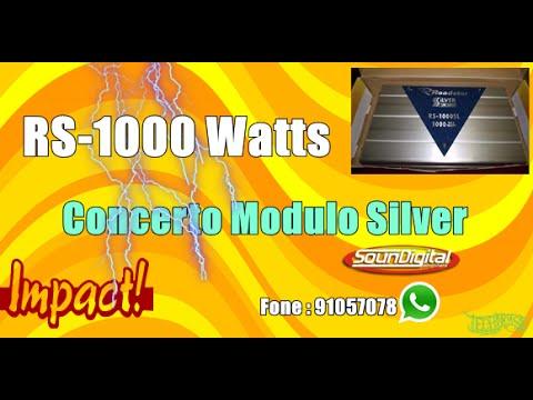 Concerto do Modulo Roadstar Silver 1000 watts @impactsomSJP