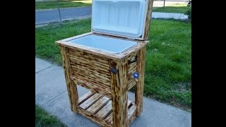 Wood Cooler Box