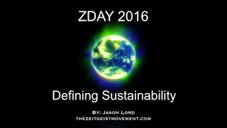 Defining Sustainability | Jason Lord | ZDAY 2016 Los Angeles