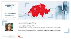 Global Alliance for Genomics and Health (GA4GH) and Phenopackets