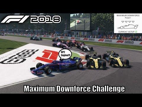 F1 2018 Maximum Downforce Challenge