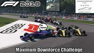 F1 2018 Maximum Downforce Challenge