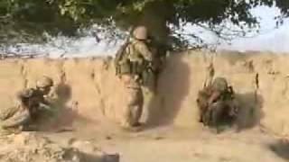 Canadian Army Firefight