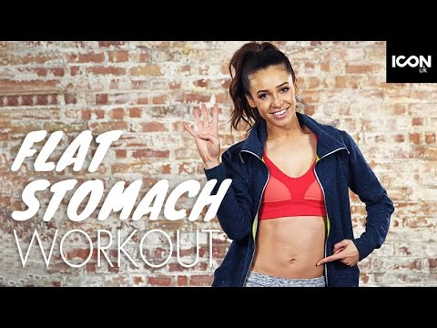 Workout: Top 4 Exercises For A Flat Stomach  Danielle Peazer