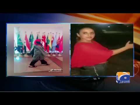 TikTok star Hareem Shah displays firing skills in latest video