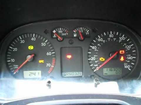 2002 Volkswagen Jetta Starting Problem