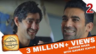 you re in the wrong house   breakfast with champions ft gaurav kapur ajit agarkar zaheer khan