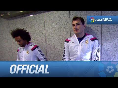 Túnel de vestuarios del Real Madrid