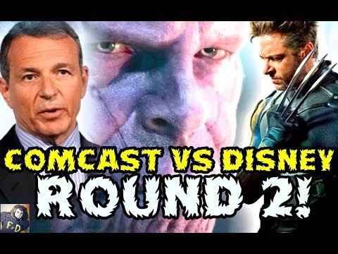 COMCAST VS DISNEY ROUND 2! BOB IGER TRANQUILIZA A LOS INVERSORES SOBRE FOX - WOLVERINE EN UCM!