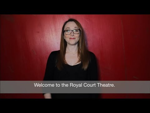 BSL/Captioned trailer   Royal Court 2018 season