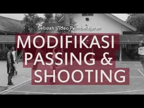 Video Pembelajaran Bola Basket - Modifikasi Passing dan Shooting