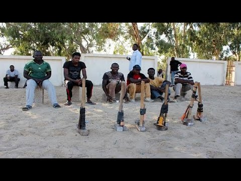 African migrants settle in Libya