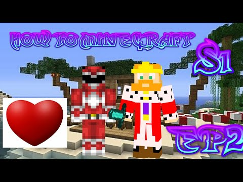 HOW TO MINECRAFT- WELCOME TO LOVE ISLAND-S1 EP2