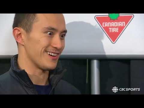 Patrick Chan - CBC Olympics Facebook Live