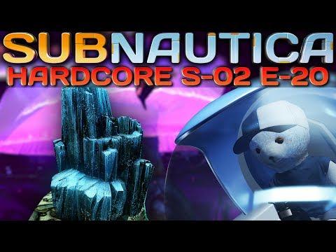 Subnautica HARDCORE Lithium Jagd Subnautica Deutsch German Gameplay S2E20