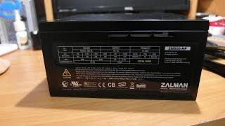Дуже простий ремонт топового комп'ютерного блоку живлення zalman ZM-500HP