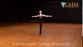 YCADA Dance  - Glossary - A la Seconde Turns (Turns in Second)