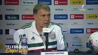 ¡Va en serio! Gerardo Martino destaca a Uriel Antuna en el Tri de Copa Oro | Telemundo Deportes