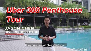 Uber 388 2 bedroom penthouse for sale - upper east coast road - Singapore - Jason Chen real estate