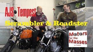 AJS Tempest Scrambler & Roadster TEST