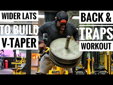 Back Workout For Wider Lats & Bigger Traps