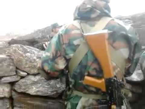 Chinese PLA soldiers misbehave with Indian Jawans at LAC