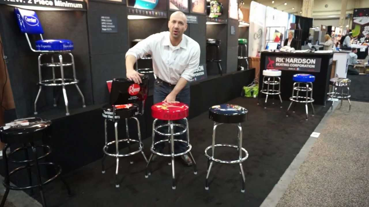 Logo Bar Stool Manufacturer Richardson Seating Shows Off Its Top 3 Products At Ppai 2017