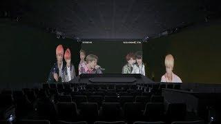방탄소년단 콘서트 실황 영화 '러브 유어셀프 인 서울' 스크린X 예고편