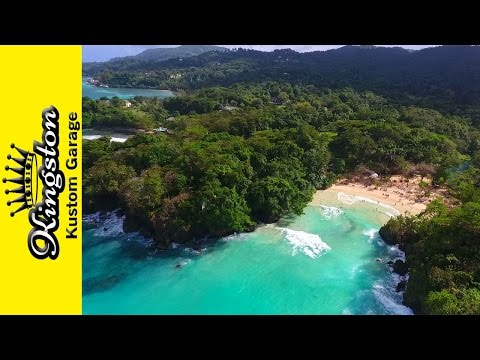 Frenchmans Cove Beach Portland Jamaica (Travel Video) Hotel and Lagoon