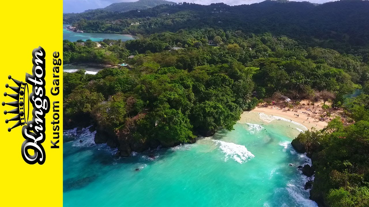 Frenchmans Cove Beach Portland Jamaica Travel Video Hotel And