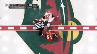 NHL 15 - Minnesota Wild vs Philadelphia Flyers Gameplay [HD]