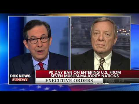Dick Durbin Defends Letting In Syrian Refugees Into The United States