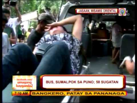 58 hurt in Misamis Oriental bus accident