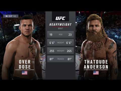 UFC 2 {OVERDOSE SHOWCASE} Gameplay By FuturisticTeal