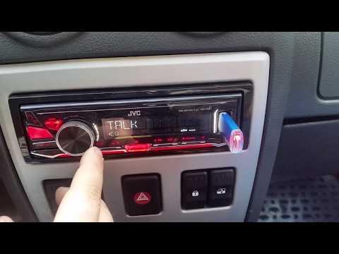 Demo JVC KD-X241 sound test | Testing JVC KD X241 | EQ test