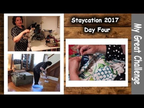 Staycation 2017 || Day Four || Saving the Day - One Stitch at a Time ||