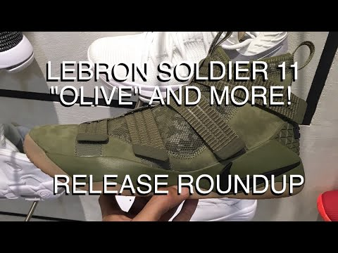 newest d3ce9 0f0e6 LEBRON SOLDIER 11 OLIVE, KD 10 FINGERPRINT, AND MORE!   Release Roundup  (Philippines)