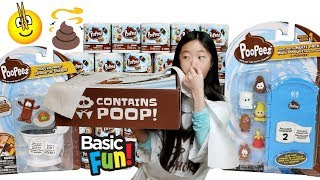 POOP SENT DIRECTLY TO ME BY THE MAKERS OF POOPEEZ!!! UNBOXING A FULL SET OF POOPEEZ BLIND BOX/BAGS
