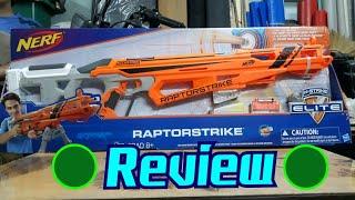รีวิวปืน Nerf รุ่น RAPTORSTRIKE ไกส้ม สุดเท่ และ แรง - lnwBeckham