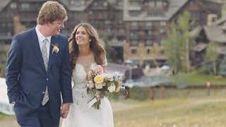Bachelor Gulch Wedding // The Ritz-Carlton // Caroline & William