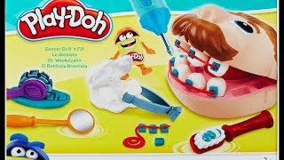 Как сделать из пластилина Play Doh зубы и брекеты для Мистера Зубастика своими руками [#6 шагов]