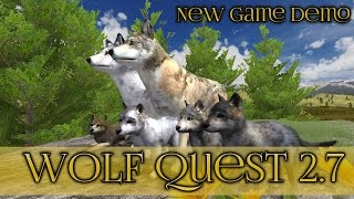 New Wolf Quest Game Demo!! || Wolf Quest 2.7 Demo