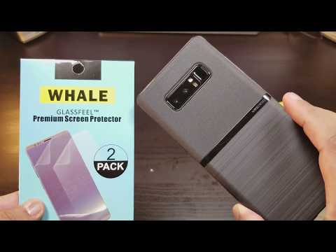 samsung-note-8-lumion-ultra-slim-case-/-whale-screen-protector
