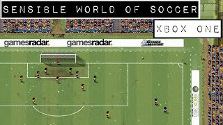 Sensible World of Soccer - Xbox One Gameplay - Backwards Compatible Game