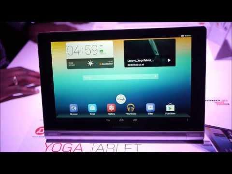 Lenovo Yoga Tablet 10-inch hand-on